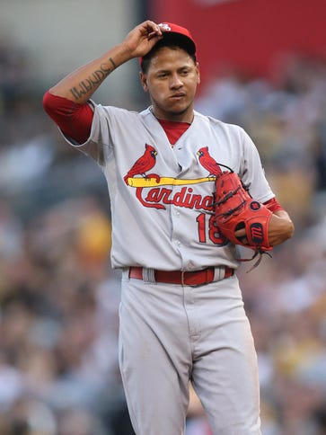 Carlos Martinez is 13-6 with a 2.91 ERA this season.