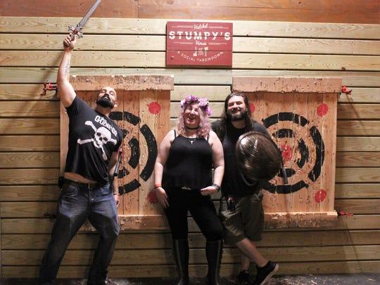 Stumpy's in Green Brook held a special Midsummer Viking