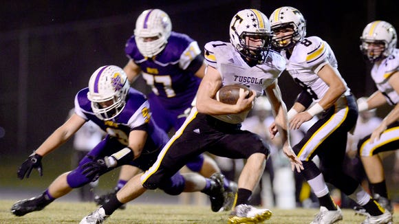 Tuscola senior Caleb Ferguson is the Citizen-Times All-WNC Offensive Player of the Year.