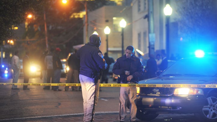 Jackson Police Deparment on a crime scene