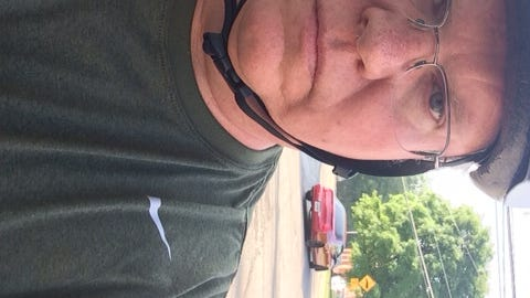 Bike to Work Day road warrior, James Bruggers.