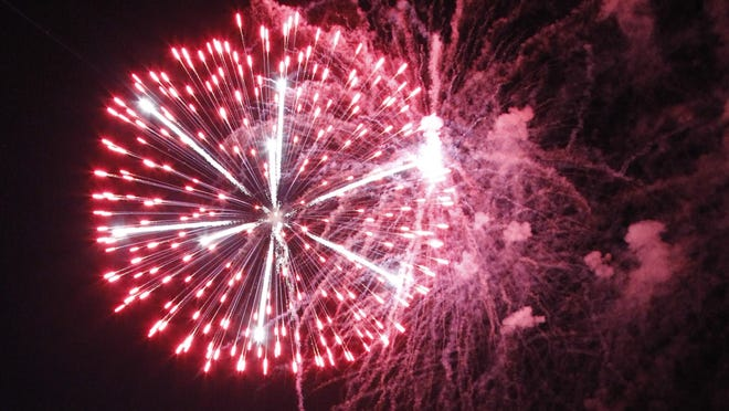 Thousands of people will fill Liberty Park Friday to watch the fireworks display.