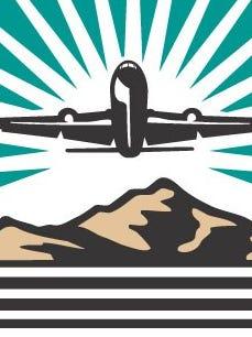 El Paso International Airport logo.