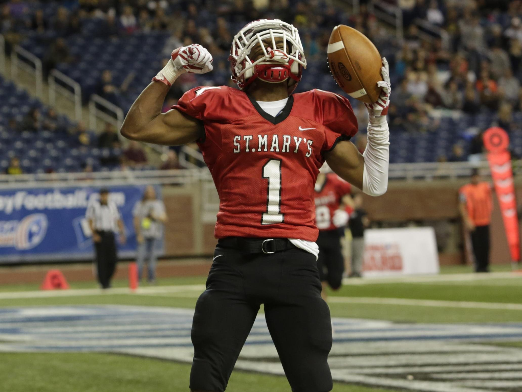 Orchard Lake St. Mary's receiver K. J. Hamler decided earlier this week to move to IMG Academy in Florida for his senior season.
