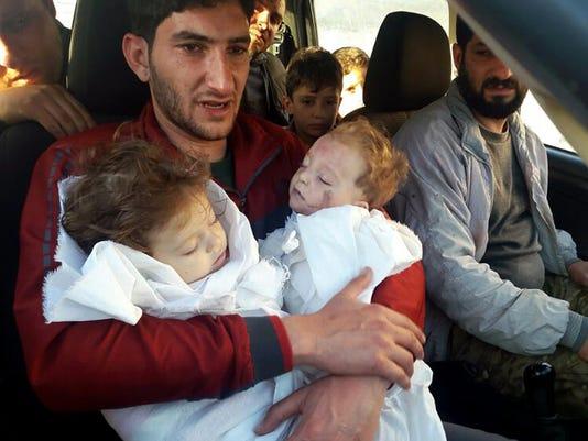 AP SYRIA THE SURVIVORS I SYR