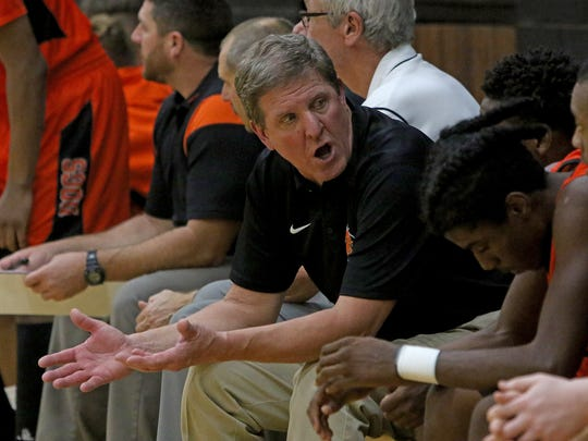 One reason for Danny Nix's coaching success at Burkburnett has been the continuity on his coaching staff.