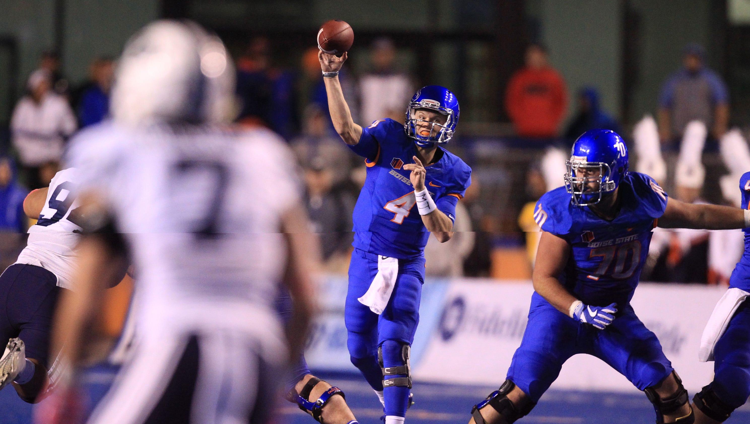 Brett Rypien helps No. 14 Boise State hold off BYU