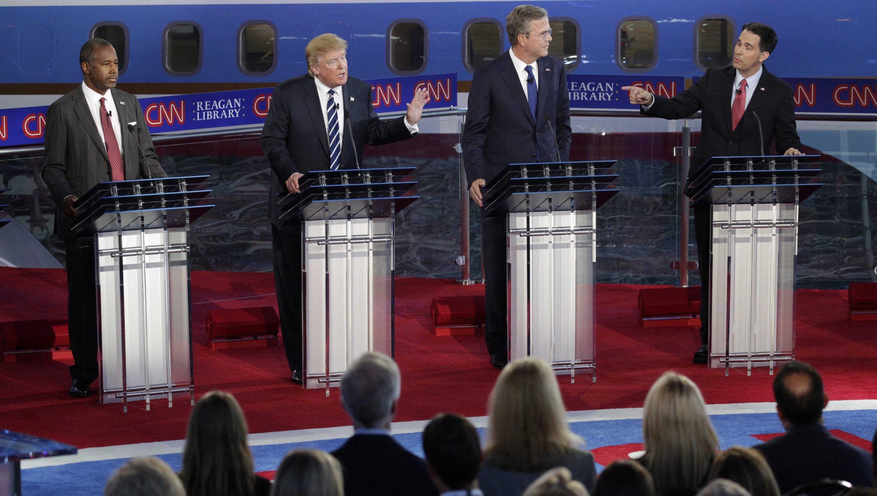 Ronald Reagan Library Debate