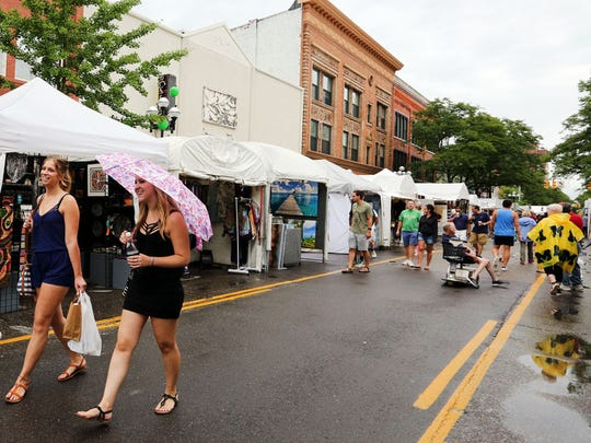 The Ann Arbor Art Fair is in its fourth and final day