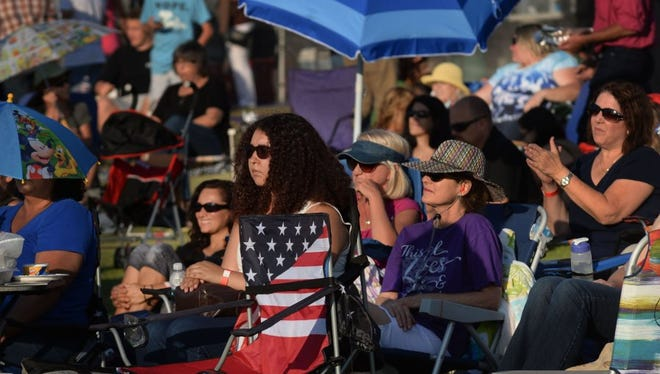 People of all ages enjoy the music at Revivus: The Summer Event, which featured five bands Saturday at Rancho Simi Community Park in Simi Valley.