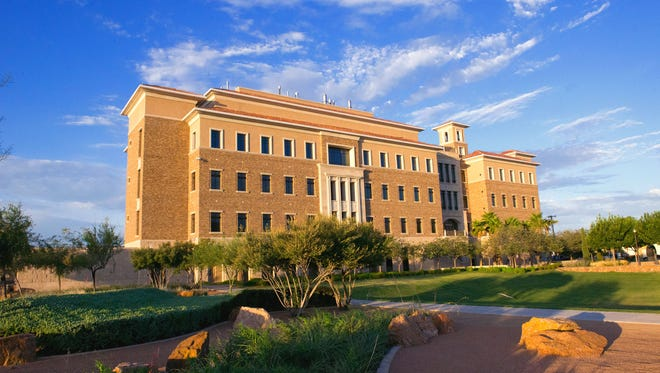 A $62 million lab and classroom building to be constructed by Sundt Construction will look similar to the Medical Science Building 1 on the Texas Tech University Health Sciences El Paso campus.