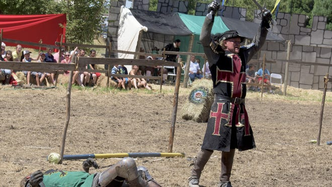 People from across the Pacific Northwest attend the Canterbury Renaissance Faire in Silverton.