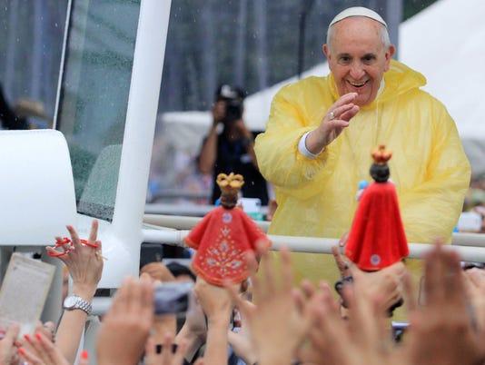 EPA PHILIPPINES POPE FRANCIS VISIT REL BELIEF (FAITH) PHL