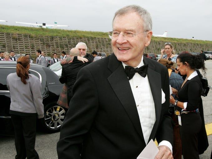 Actor Bill Daily arrives at the 2005 TV Land Awards
