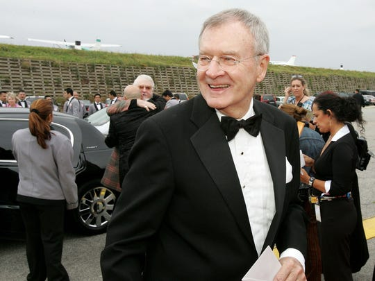 Actor Bill Daily is shown in 2005 in Santa Monica,