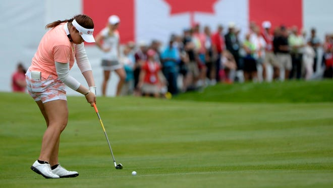 Ariya Jutanugarn takes the lead into the final round of the Canadian Pacific Women's Open.
