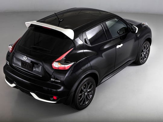 The 2017 Nissan Juke Black Pearl Edition is something