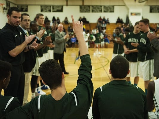 Milton vs. Winooski Boys Basketball 12/29/15
