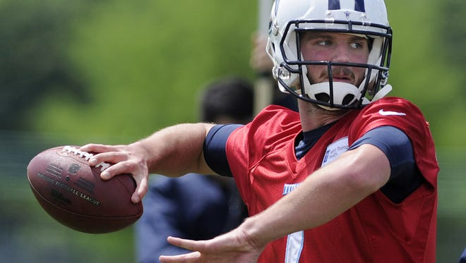 Titans rookie quarterback Zach Mettenberger