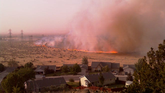 Defensible space is the area between a house and an oncoming wildfire where the vegetation was modified to reduce wildfire threat.