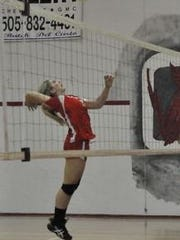 Jessica Leibold will represent Corona High School on the 2016 1A/2A South All-Star volleyball team.
