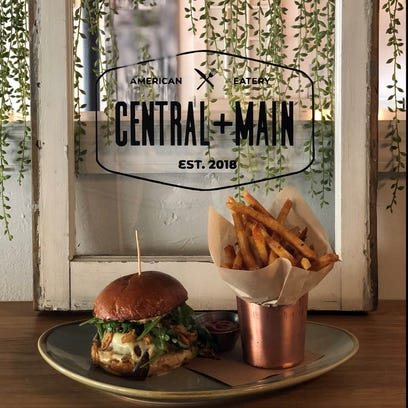 NJ chef's award-winning burger at Central + Main in Madison