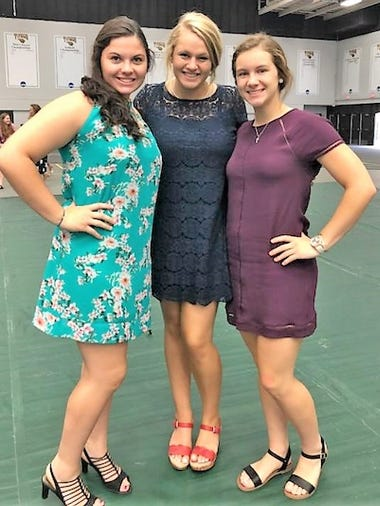 Trio attends Badger Girls State: Kendyl Sturm, left,