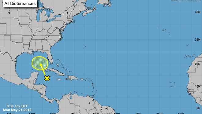 Another low-pressure system that will bring even more rain to Florida at the end of this week could also develop into a tropical system.