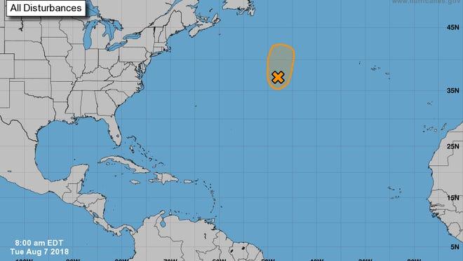 Atlantic 8 a.m. Aug. 7, 2018.