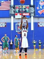 Jequan Lewis while playing at Dickson County High School.