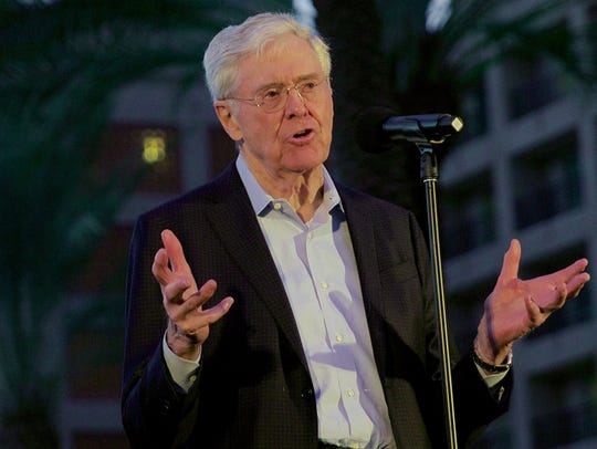 Charles Koch kicks off the Freedom Partners Chamber