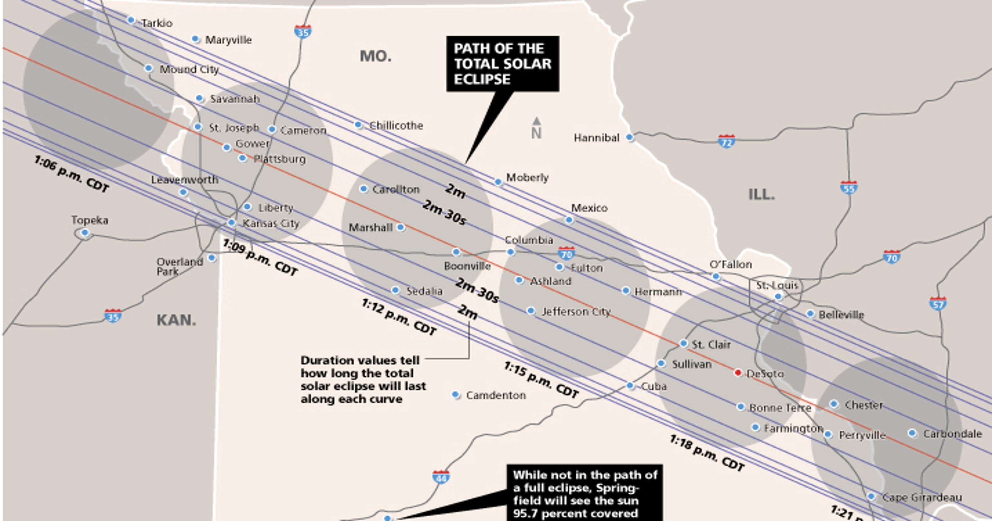 Show Me An Eclipse Missouri Gears Up For Spectacular Total Solar