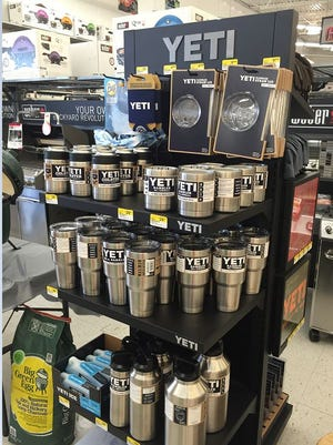 Yeti products have been tough to keep in stock at Ace Hardware in Sioux Falls.