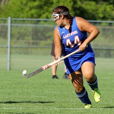 Ladywood defeated Regina and St. Catherine in Catholic League field hockey action.