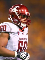 Washington State offensive lineman Andre Dillard is an outstanding pass-blocking prospect.