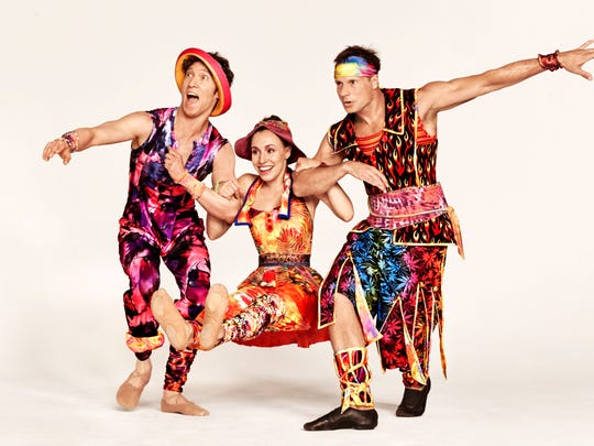 Dancers in the Twyla Tharp 50th anniversary tour, at Mesa Arts Center on Oct. 7, 2016.