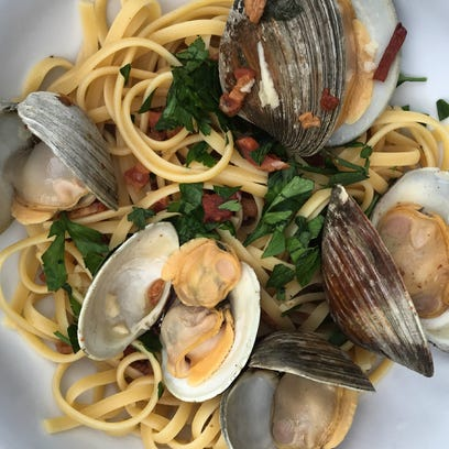 Liz Johnson's recipe for Linguine with Clams is made