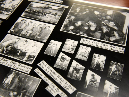 Photos and headlines collected by Bob Obermiller document