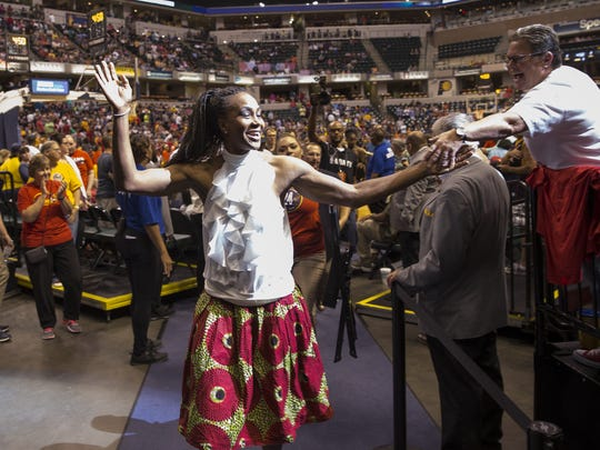Tamika Catchings could be the small business owner's