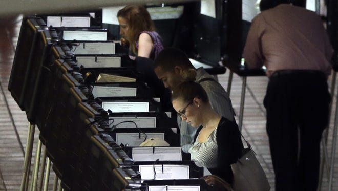 FILE - A recent report by TIME magazine has brought to light the extentthefederal government went to restore faith in the United States' democratic process and protect U.S. voters after hacks that began in Riverside County, Calif.