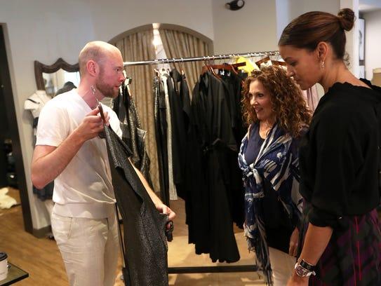 Peter Huessemann, international clothing designer Daniel