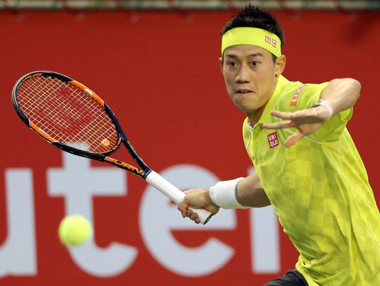 2015-10-07-Kei Nishikori-japan-open
