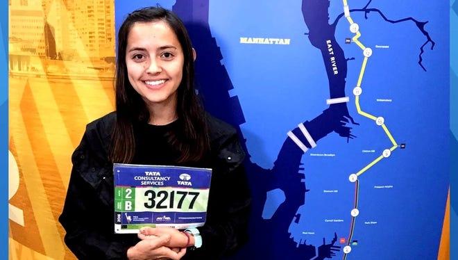 Wylie graduate Linda Bernal is running in Sunday's New York Marathon.