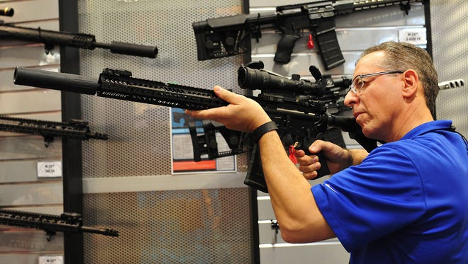 A Washington initiative that would have raised the age at which buyers would be eligible to buy semiautomatic weapons may not appear on the November ballot after a Thurston County judge said the signature petitions had problems.