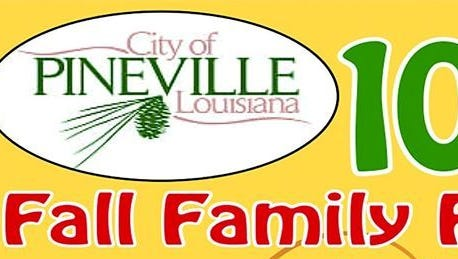 Pineville's Fall Family Festival is set for 6 to 8 p.m. Thursday at Kees Park. Those attending are encouraged to bring nonperishable goods for the Food Bank of Central Louisiana.