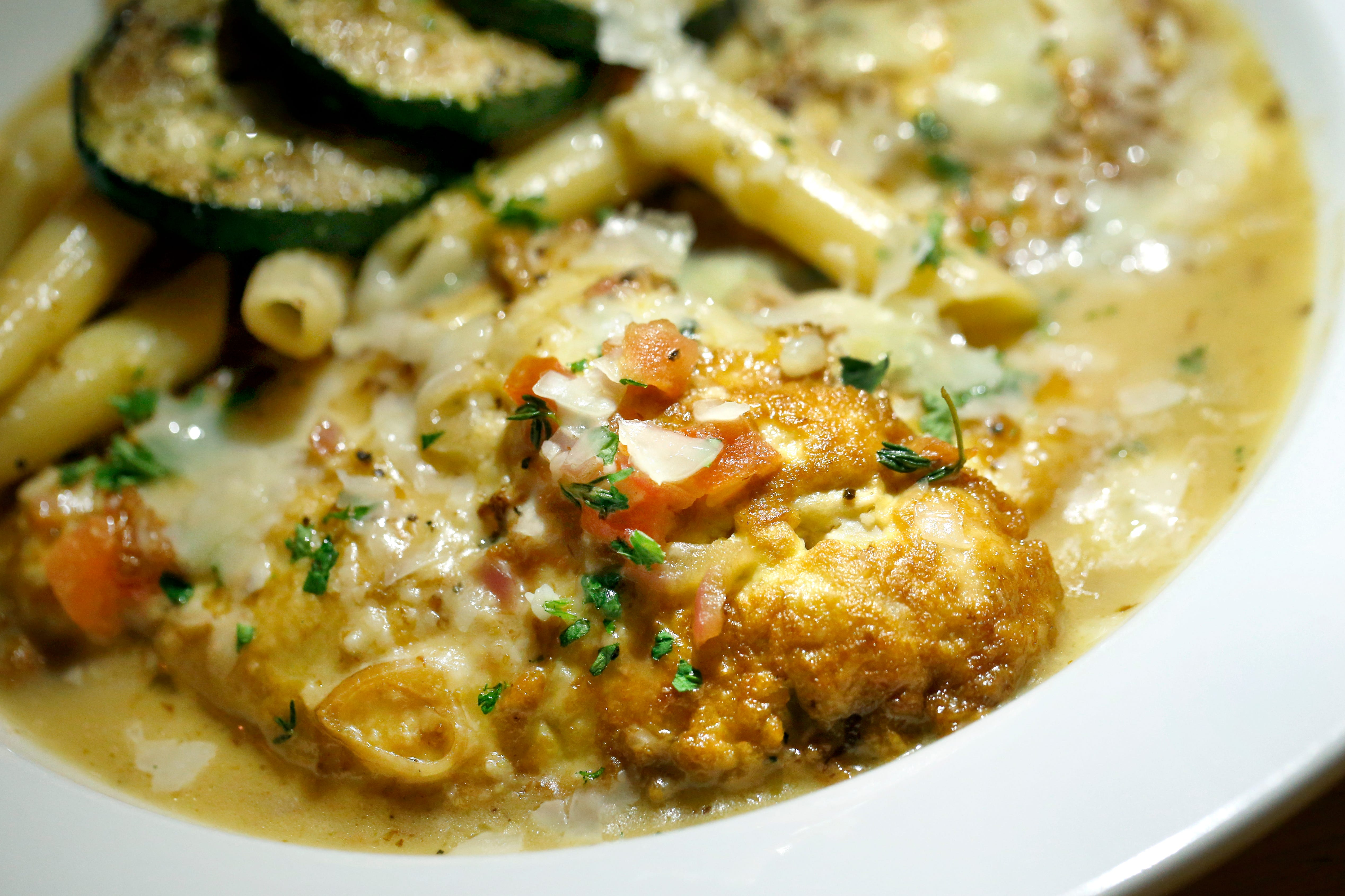 Chicken French is a popular dish in Rochester, NY, restaurants