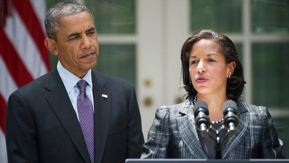 President Obama and National Security Adviser Susan