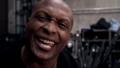 """Eddie George in a video opening for """"Thursday Night Football"""" on NFL Network."""