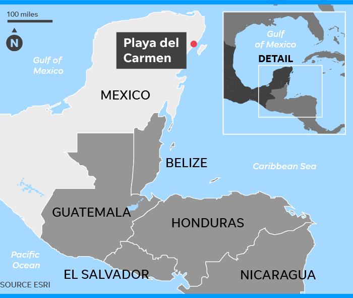 Playa del Carmen threat downgraded US Embassy revises Mexico issue