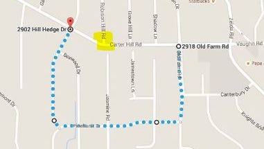Carter Hill Road/Robison Hill road intersection will be closed Saturday.